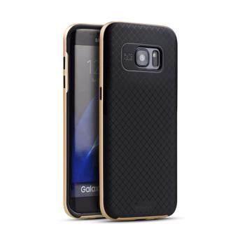 iPaky เคส Samsung Galaxy S7 Edge - สีทอง
