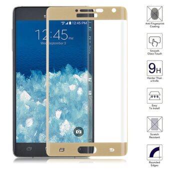 ครอบแก้วเป็นอารมณ์แบบฟิล์มกันรอยหน้าจอสำหรับ Samsung Galaxy Note Edge-ทองคำ
