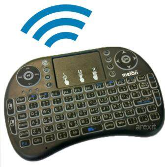 Android box Pro Melon mini keyboard มินิคีย์บอร์ดไร้สาย พิมพ์ไทยได้ รุ่น MKM 110