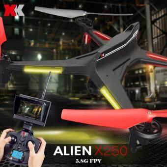 Drone ติดกล้องความละเอียดสูง รุ่น มีจอดูภาพ พร้อมระบบถ่ายทอดสดแบบ Realtime(NEW ระบบ ล็อกความสูง)