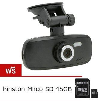 Alithai G1W กล้องติดรถยนต์ DVR NT96650 Full HD (Black) ฟรี KINGSTON memory card 16Gb CLASS10(PRICE:390-)