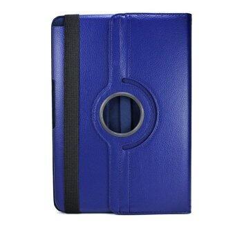 CASE PHONE เคส Samsung Galaxy Tab 2 (10.1 นิ้ว) รหัส P5100 / P7500 (ไม่มีปากกาที่ตัวเครื่อง) รุ่น Rotary หมุน 360 องศา (สีน้ำเงิน)
