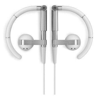 B & O A8 หูฟังชนิดใส่ในหู Earhook Metal HiFi หูฟังแบบสเตอริโอหูฟัง Bluetooth (เงิน) - intl