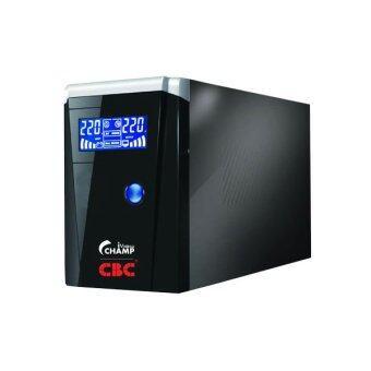 CBC เครื่องสำรองไฟ UPS 1000VA / 400 Watt รุ่น champ-iview (สีดำ)