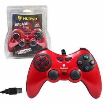 จอยเกมส์ JoyStick Analog 'NUBWO' NJ-28 (สีแดง)