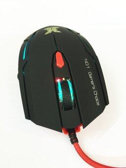Nubwo เมาส์มาโคร รุ่น KRONOS X1 (สีดำ) (image 4)