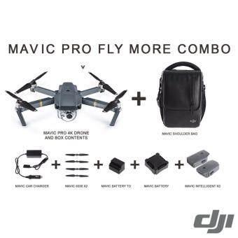DJI Mavic Pro โดรนติดกล้อง พับขาได้ ชุุด Fly More Combo