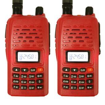 iBettalet วิทยุสื่อสาร รุ่น IC Com แพ็คคู่ (สีแดง)