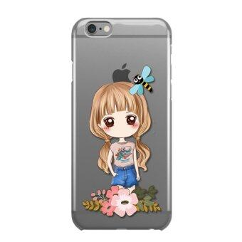 AFTERSHOCK TPU Case iPhone6 /6s (เคสใสพิมพ์ลายI'm a gril 3) / Thin 0.33 mm
