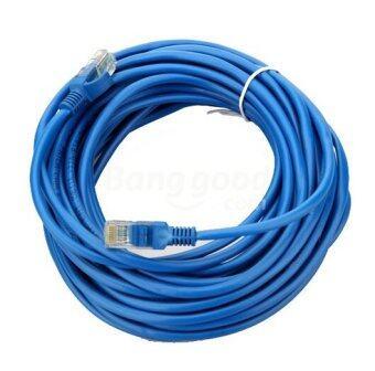 Link Cable CAT5E สายแลน เข้าหัวสำเร็จรูป 20 เมตร (สีน้ำเงิน)