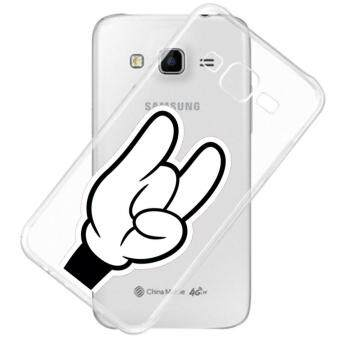 AFTERSHOCK TPU Case Samsung Galaxy J2 2016 (เคสใสพิมพ์ลาย Don't Love) / Thin 0.33 mm