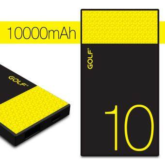 GOLF Hive10 แบตเตอรี่สำรอง 10000mAh (2 ช่องชาร์ต)