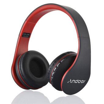 ขายดีที่สุด Andoer LH-811 ดิจิตอล 4ใน1 ไร้สายบลูทูธสเตริโอมัลติฟังก์ชั่น 3.0+EDR หูโทรศัพท์หูฟังชุดหูฟัง และสายหูฟังกับไมค์ MP3/ถ้าเขาเล่นเพลงวิทยุ fm MicroSD แฮนด์ฟรีสำหรับโทรศัพท์สมาร์ทแท็บเล็ตพีซีโน้ตบุ๊ก