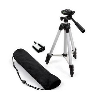 TF tripod ขาตั้งกล้อง 3 ขา รุ่น 3110 (สีดำ) ฟรี หัวต่อสำหรับมือถือ