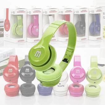 DT หูฟังแบบครอบหู J-03 Headphone