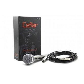 Ceflar Microphone ไมค์โครโฟน รุ่น CM-001 - (สีดำ)
