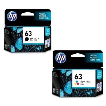 HP หมึกพิมพ์ Inkjet รุ่น hp 63co Black/Color