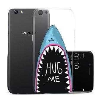 Hug Case TPU เคส Oppo R9s Plus เคสโทรศัพท์พิมพ์ลาย HugMe เนื้อบาง 0.3 mm