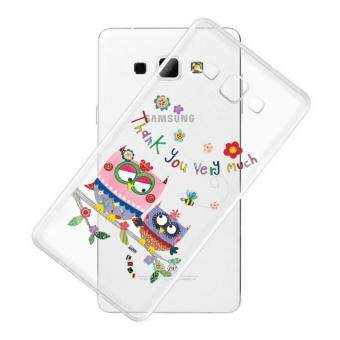 AFTERSHOCK TPU Case Samsung Galaxy J5 2016 (เคสใสพิมพ์ลาย OWL) / Thin 0.33 mm