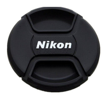 Harga 72mm Centre Pinch Clip On Lens Cap for Camera