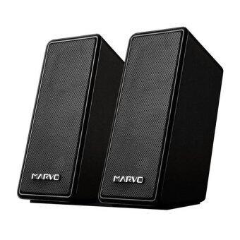 Marvo Speaker USB ลำโพงคอม รุ่น SG-109 (สีดำ)