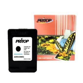 Pritop HP DeskJet 1112, 2130,2132,3630,3632/ENVY 4512,4516,4520,4522,4655ใช้ตลับหมึกอิงค์เทียบเท่า รุ่น63/63BK/63XL/F6U62AA