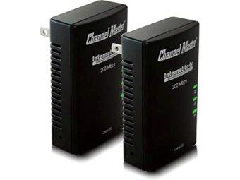 Mastersat Powerline ตัวส่งสัญญาณอินเตอร์เนทผ่านระบบไฟในบ้าน Power001