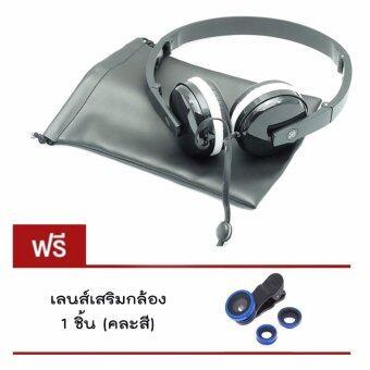 DT หูฟังมาการอง แบบครอบหู SIBYL MACARONS EARPHONE รุ่น X-18 แถมฟรี เลนส์เสริมกล้อง