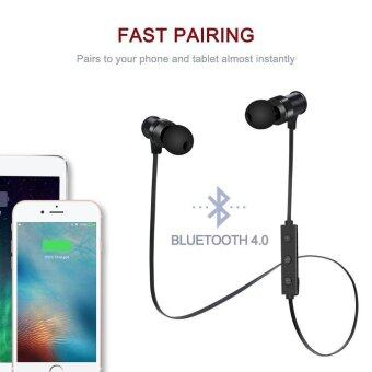 S3 Wireless 4.1 ชุดหูฟังตัดเสียงรบกวนหูฟังสเตอริโอ (สีดำ) - intl