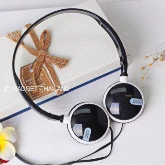 DiiD หูฟัง STEREO MOBILE HEADPHONE With Microphone รุ่น XI-20 ( สีดำ / ขาว )