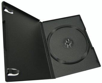 DVD Box Case กล่อง DVD กล่องดีวีดี 1 แผ่น สีดำ (Pack 25 Box)