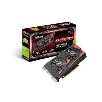 ASUS การ์ดจอ EX GTX1050TI O4G GDDR5 (OC Edition eSports Gaming graphics card)