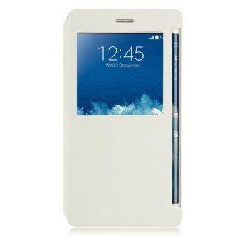 ดูหนังเรื่องหน้าต่างสำหรับ Samsung Galaxy Note 4/Note Edge N915 (ขาว) (ต่างประเทศ)