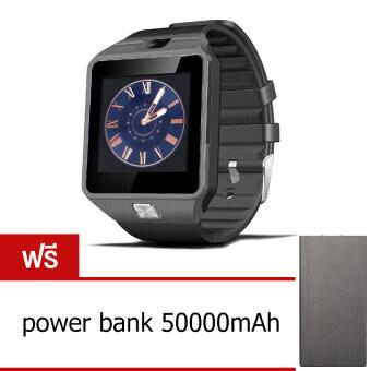Smart Watch Z นาฬิกาโทรศัพท์ Smart Watch รุ่น A9 Phone Watch (Black) ฟรี power bank 50000 mAh