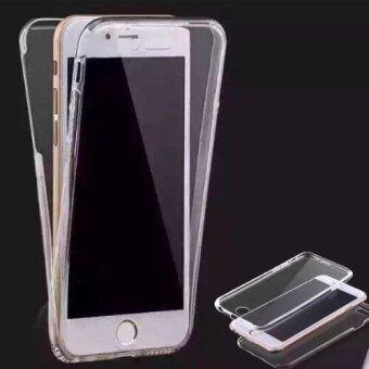 CASE PHONE เคสประกบ หน้า+หลัง (สำหรับIPhone6Plus/6sPlus) 360 ํ Slim & Protection เคสใส เคสนิ่ม