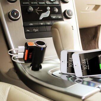 ของแท้100% บลูทูธในรถยนต์ BC09 Car MP3 Audio Player Bluetooth FM Transmitter Wireless FM Modulator Car Kit HandsFree LCD Display USB Charger for Mobile
