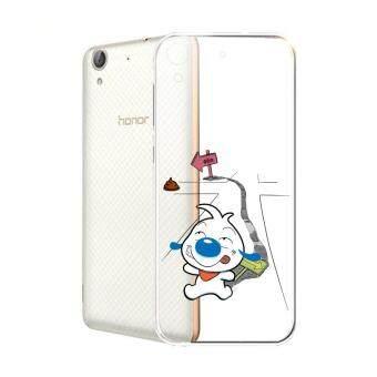 Hug Case TPU เคส Huawei Y6 II เคสโทรศัพท์พิมพ์ลาย Street เนื้อบาง 0.3 mm