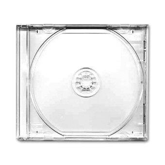 IS กล่องใส่แผ่น CD มาตรฐาน 100 ชิ้น (สีใส)