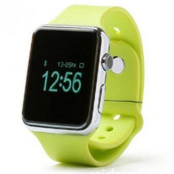 KS smart watch นาฬิกาโทรศัพท์ บลูทูธ ถ่ายรูป รุ่นA1 (สีเขียว)