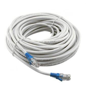 LINK Cable CAT6 สายแลนเข้าหัวสำเร็จรูป ยาว 15 เมตร (White)