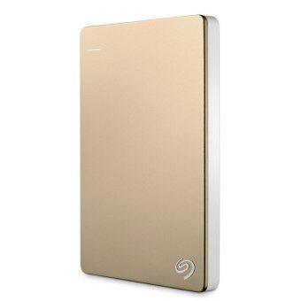 เช็คราคา Seagate 1TB new Backup Plus STDR1000309 USB3.0 (Gold) นำเสนอ