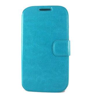 ACT เคส Samsung Galaxy Grand I9082 แบบหน้าเต็ม มีเข็มขัด สีฟ้า