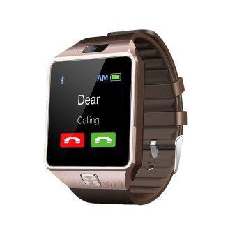 Person นาฬิกาโทรศัพท์ Smart Watch รุ่น DZ09 Phone Watch (Gold)