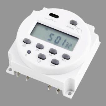โอนิวแอลซีดีดิจิตอลไทม์เมอร์แอร์พลังงานสามารถโปรแกรมได้ 12โวลต์ 16 Amps 4, 4VA สวิตซ์รีเลย์เวลา