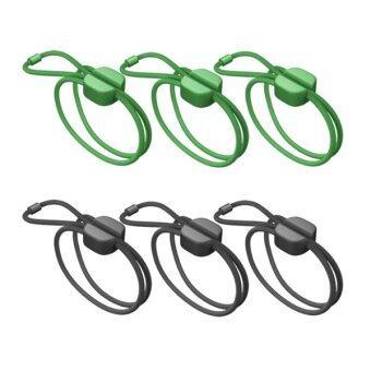 Bluelounge Pixi Medium สายรัดอเนกประสงค์ขนาดกลาง (Green/Black)