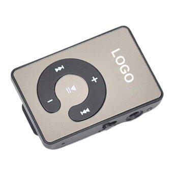 Sanwood คลิปยูเอสบี MP3 เล่นรองรับ 1.., 8จิกะไบต์ไมโครเอสดี ถ้าเขา+หูโทรศัพท์+เคเบิลสีดำ