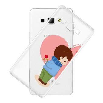 AFTERSHOCK TPU Case Samsung Galaxy J5 2016 (เคสใสพิมพ์ลาย Lovely Boy) / Thin 0.33 mm