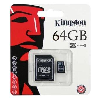 นำเสนอ Kingston Memory Card Micro SD SDHC 64 GB Class 10 คิงส์ตัน เมมโมรี่การ์ด 64 GB รุ่น แพ็ค1ชิ้น รีวิว