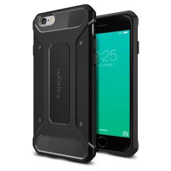 SPIGEN เคส Apple iPhone 6s Plus / 6 Plus case Rugged Capsule (Black)