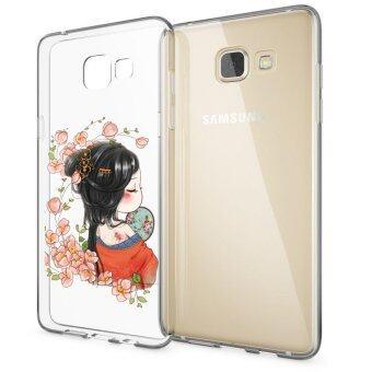 HugCase TPU เคส Samsung Galaxy A9เคสโทรศัพท์พิมพ์ลาย Nice เนื้อบาง 0.3 mm